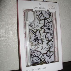 "Vera Bradley ""Glitter Flurry"" Case for iPhone X"